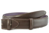 Copy of Dark Brown Box Calf Belt Strap - Longer Length