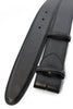 Classic Black box calf belt strap