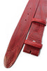 Poppy Red vintage feel belt strap