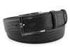 Black teyus lizard effect belt