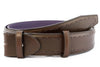 Dark Choc Saddle Stitched belt strap