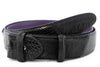 Mock croc & Pony hair belt strap