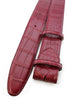 Bordo genuine matte alligator tail belt strap