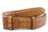 Cuero genuine hornback alligator belt strap