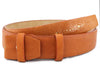 Orange two tone genuine stingray belt strap