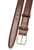 Elegant Burgundy Box Calf Belt