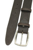 Tumbled Dark Brown Gunmetal Prong Belt