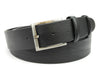 Classic Black Satin Gunmetal Belt
