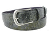 London Fog Metallic Honeycomb Belt
