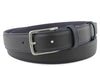Narrow Deep Navy Novak Belt