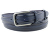 Men's Leather Navy Blue Jolson Design Men's Cordovan Belt