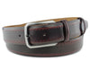 Pacino Wine Tone Hand Burnished Belt