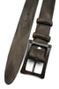 Vintage Feel Dark Brown Carbon Fibre Screw Belt