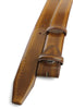 Pacino Golden Ochre Hand Burnished Belt Strap