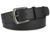 Navy blue smooth calf belt
