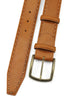 Chaplin Tan Chain Stitch Burnished Belt