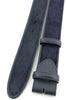 Navy blue pony hair belt strap