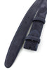 Navy blue nubuck belt strap