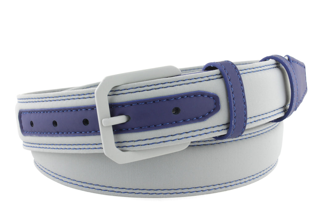 Dove Grey Neoprene activewear belt