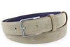 Antelope narrow suede belt