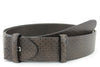 Chocolate brown diamond pattern belt strap