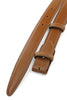 Light Chestnut Box Calf Skinny Belt Strap