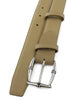 Narrow Beige Novak Bamboo Belt