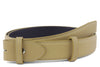 Narrow Beige Novak Belt Strap