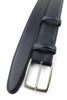 Navy Blue Box Calf Belt