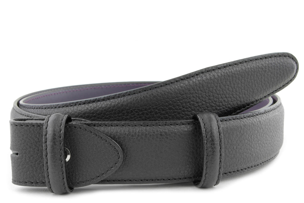 Mottled Black Belt Strap