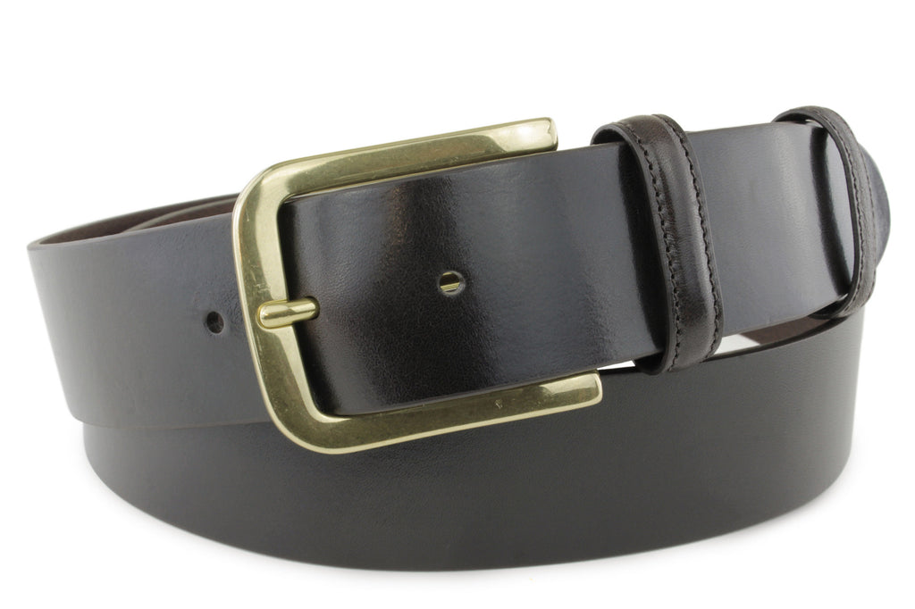 Smooth Supple Deep Brown Belt