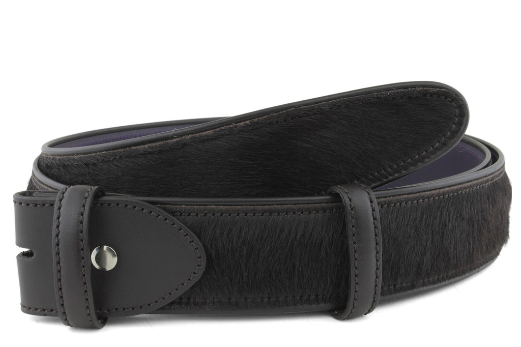 Dark Choc Pony Belt Strap