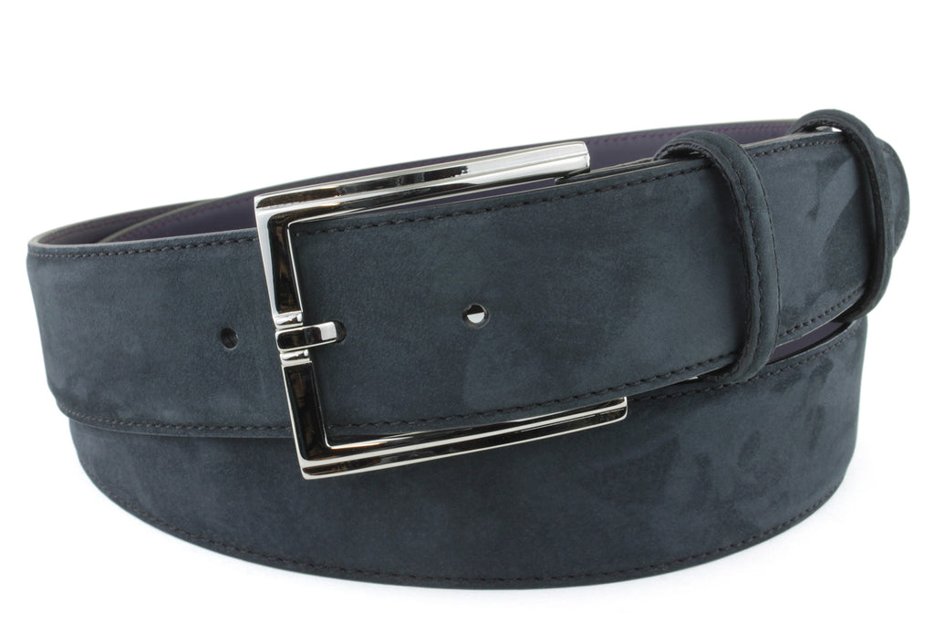 Black Nubuck Bogart Belt