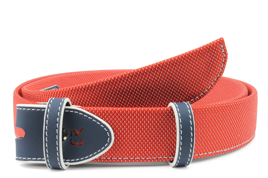 Coppola Red & Navy Performance Belt Strap