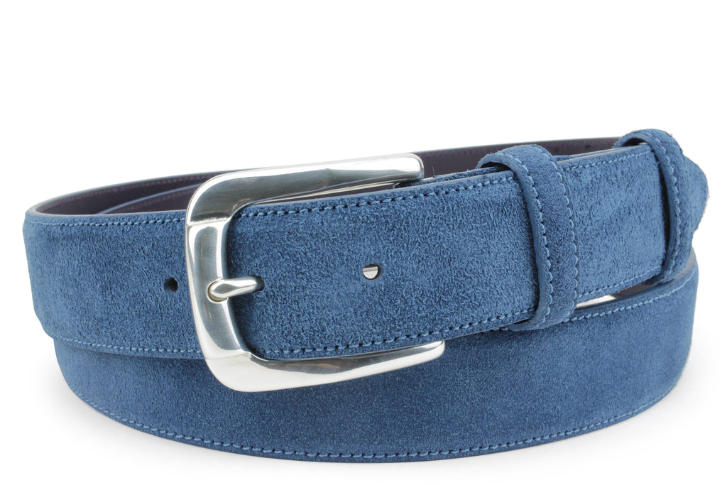 Classic Denim Toned Suede Belt
