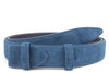 Classic Denim Toned Suede Belt Strap