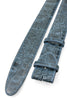 Denim Mock Croc Belt Strap