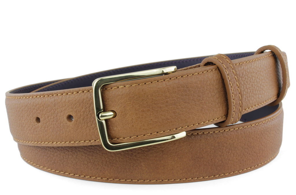 Narrow Cuero Novak Belt