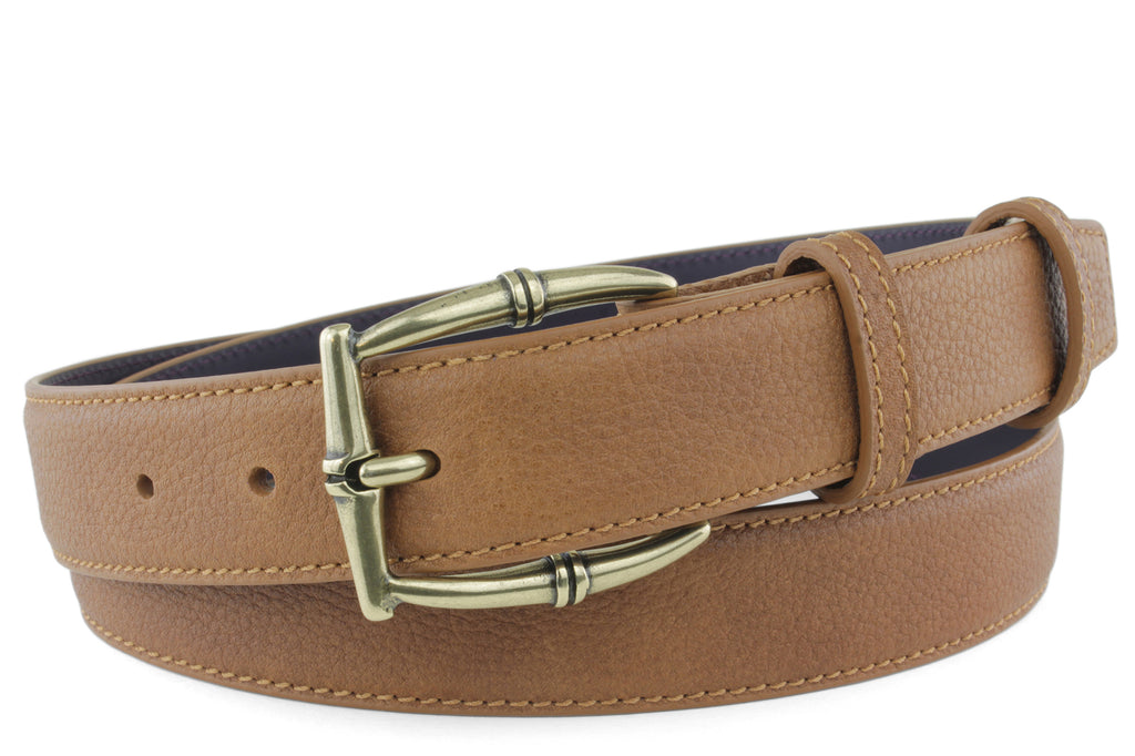 Narrow Cuero Novak Bamboo Belt