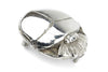 Silver Plated Sculpted Scarab Buckle 40mm