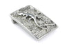 Gecko' Solid Pewter Buckle 40mm