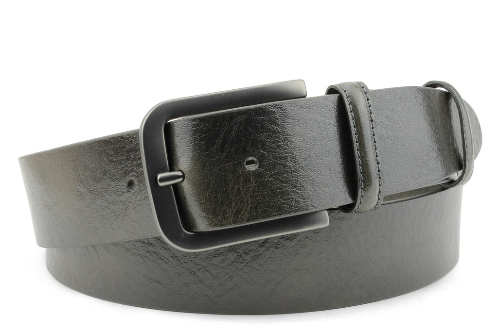 Smooth Supple Greige Belt