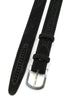 Pfeiffer Black Suede Velvet Insert Narrow Belt