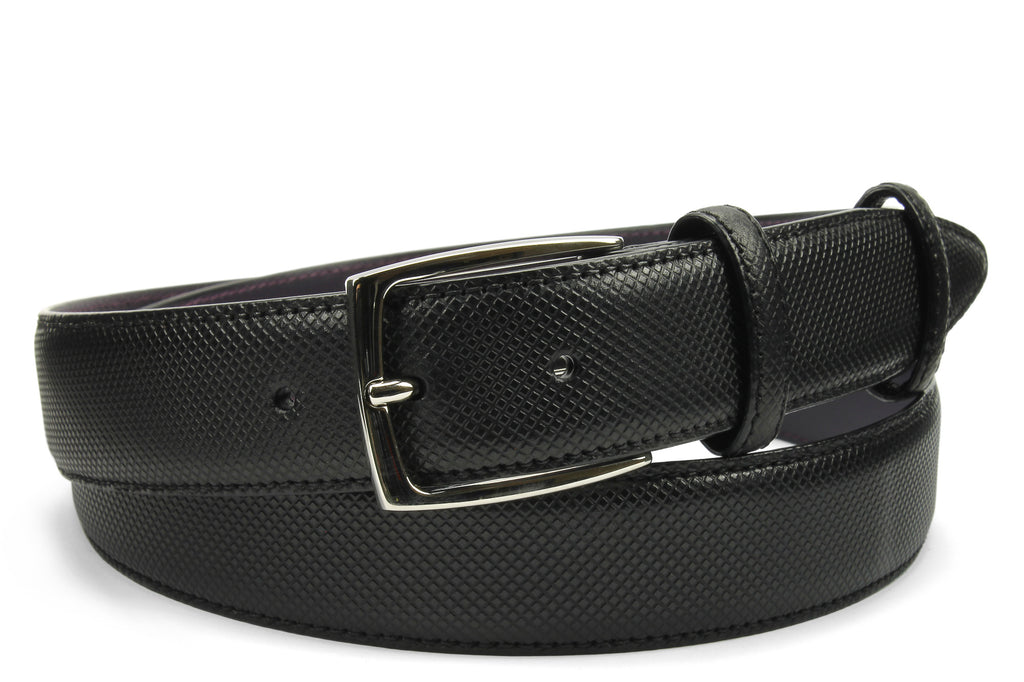 Black Bogart Burnished Dadino Belt