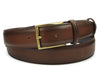 Bogart Hand Burnished Conker Dadino Belt