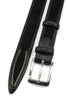 Vicious Black Zip Detail Belt