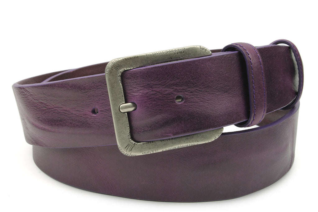 Deep Purple Supple Vintage Belt