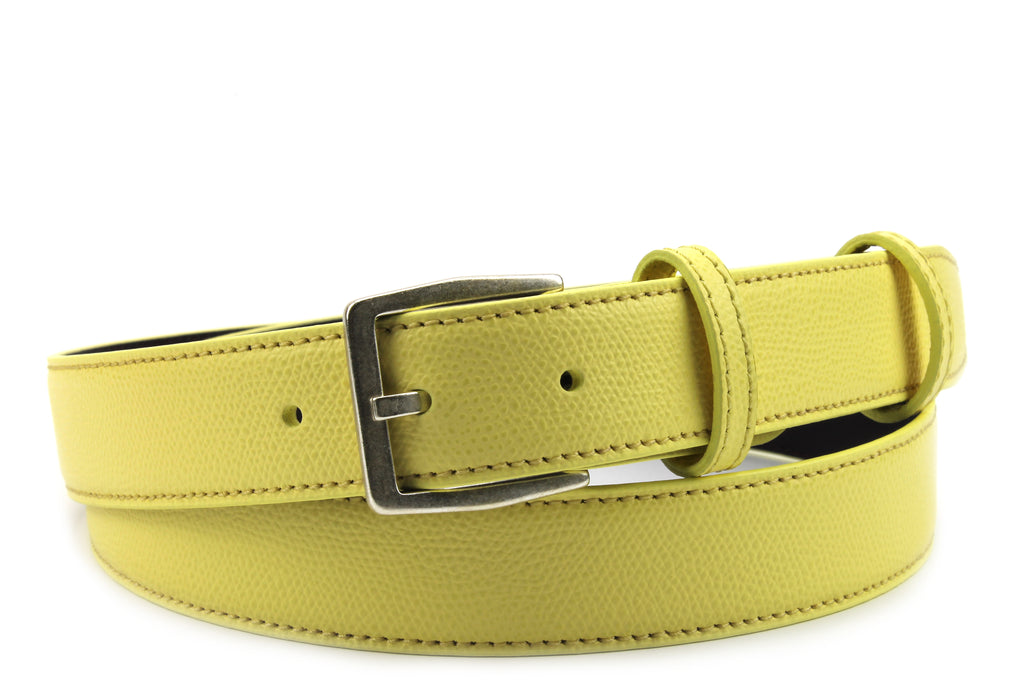 Narrow Lemon Novak Style Belt