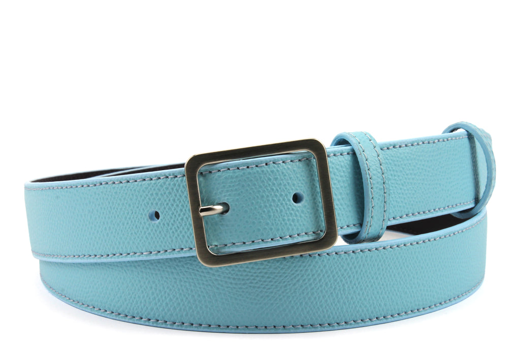 Narrow Turq Novak Style Belt