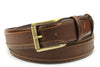 Conker Tone Hand Burnished Hockney Belt